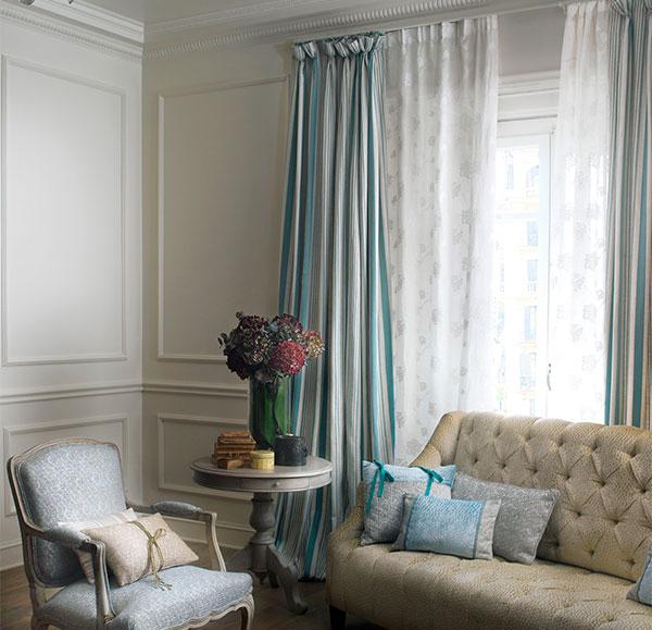 Tipos de cortinas para caso y cliente latorre decoraci n for Cortinas tipo visillo