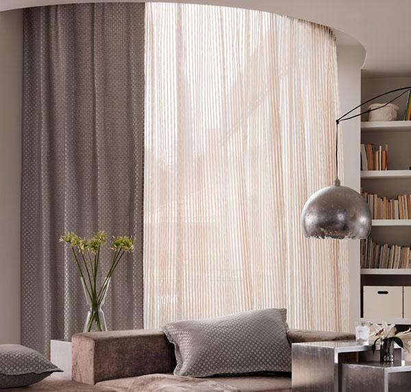 Tipos de cortinas telas de cortinas de algodn best tipos for Cortinas tipo visillo