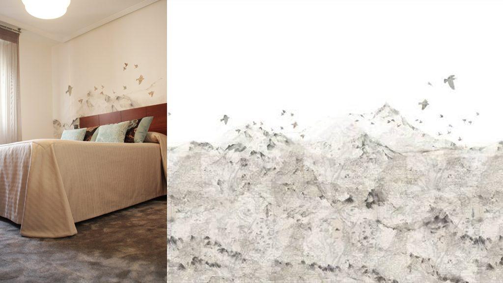 Murales decorativos de papel pintado latorre decoraci n for Papel pintado murales decorativos