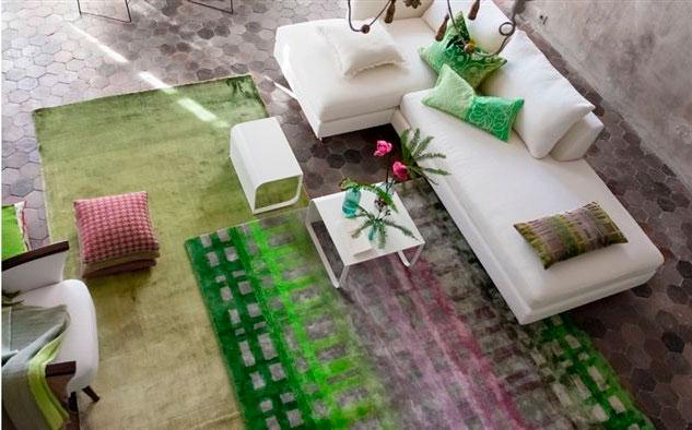 una alfombra